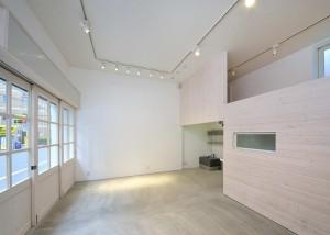 NUAGEの1階ギャラリー